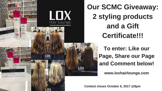 LOX Hair Lounge Giveaway