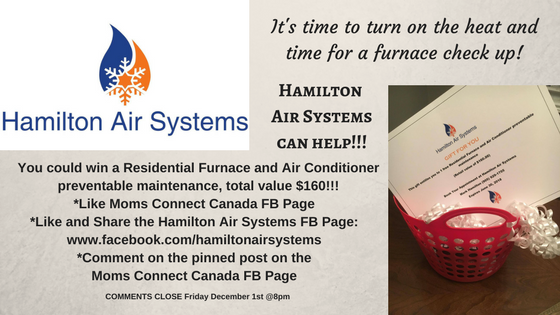 It's time to turn on the heat and time for a furnace check up!